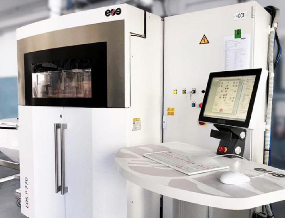 Prosilas, record 3D printer in Italy