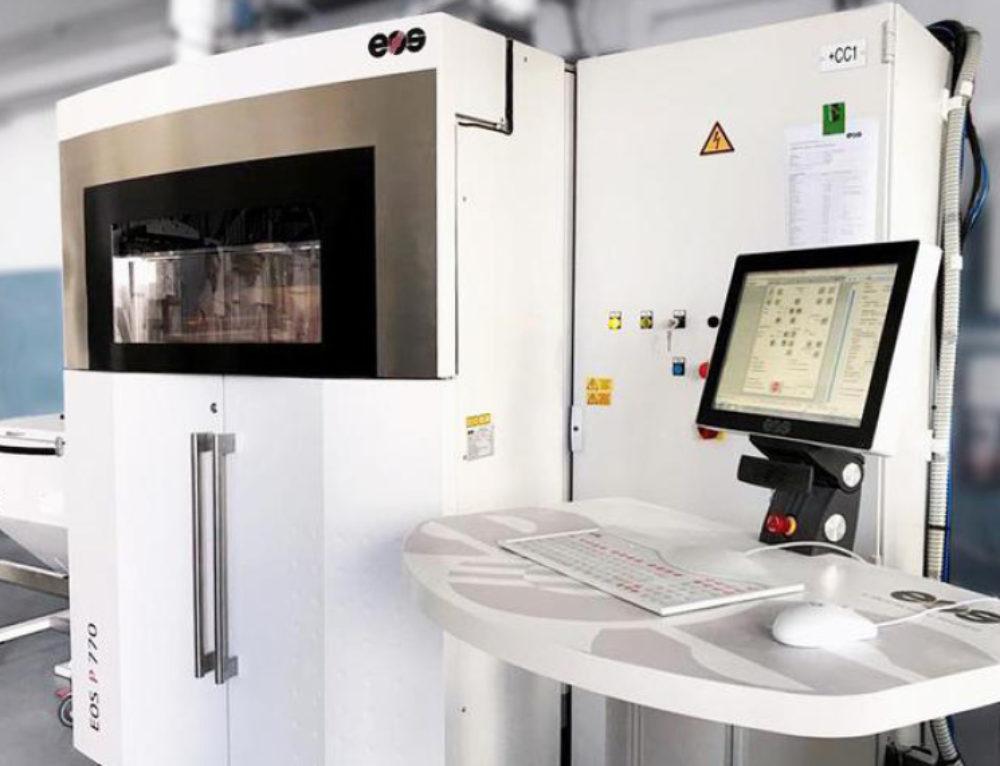 Prosilas, in Italia stampante 3D record