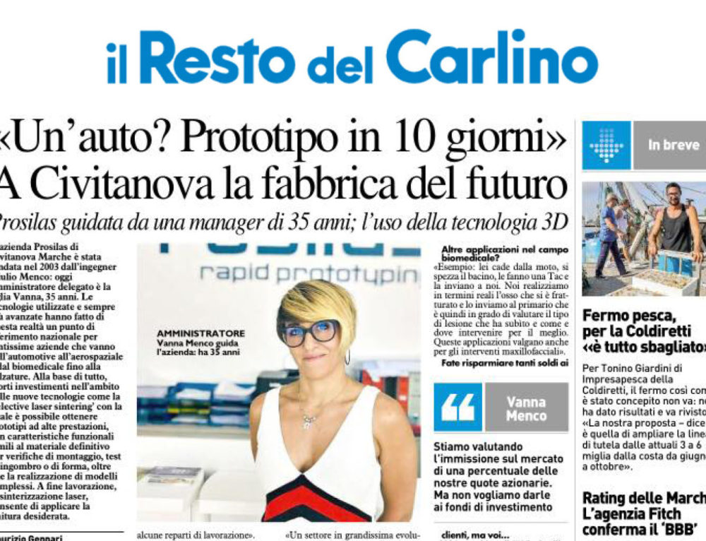 Il resto del Carlino talk about us