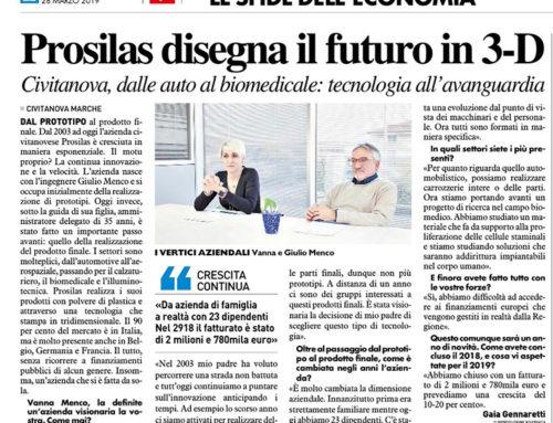 Prosilas conçoit l'avenir en 3D