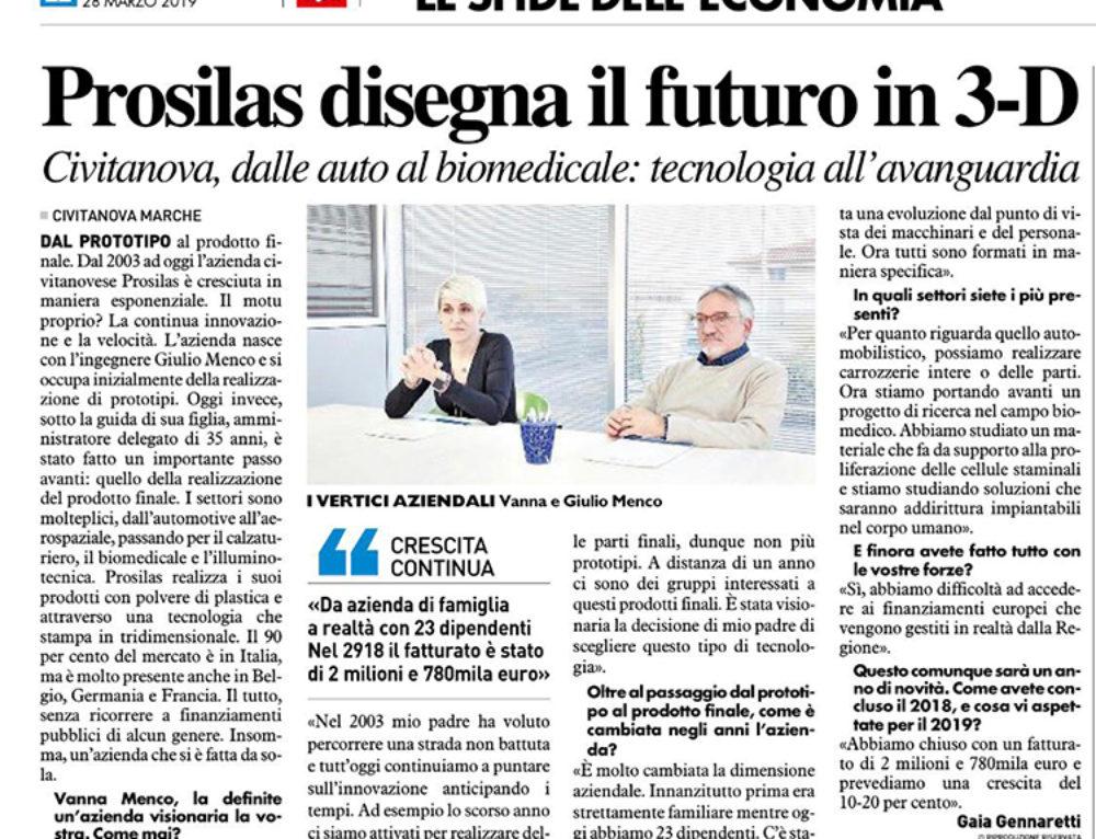 Prosilas Designs the Future in 3D
