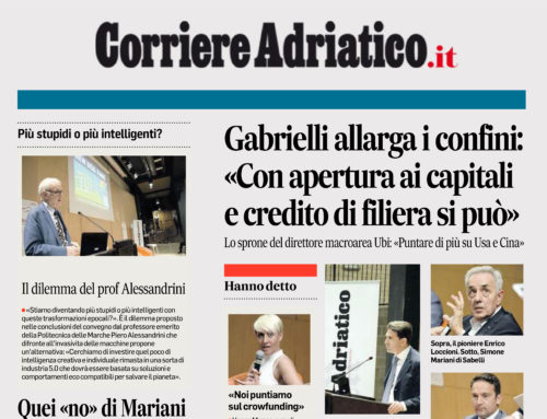 Corriere Adriatico – Puntiamo sul Crowdfunding