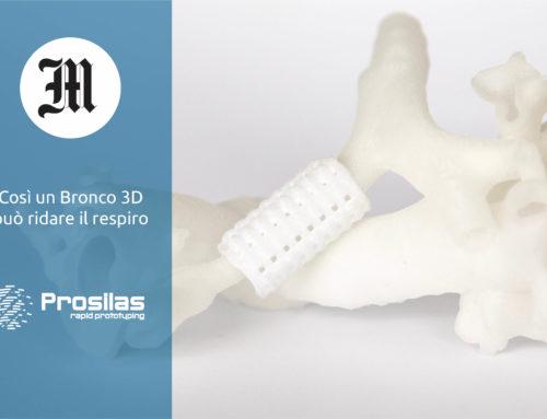 Prosilas – Così un Bronco 3D  può ridare il respiro