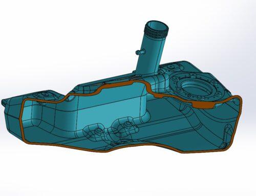 Serbatoio 3D in Poliammide
